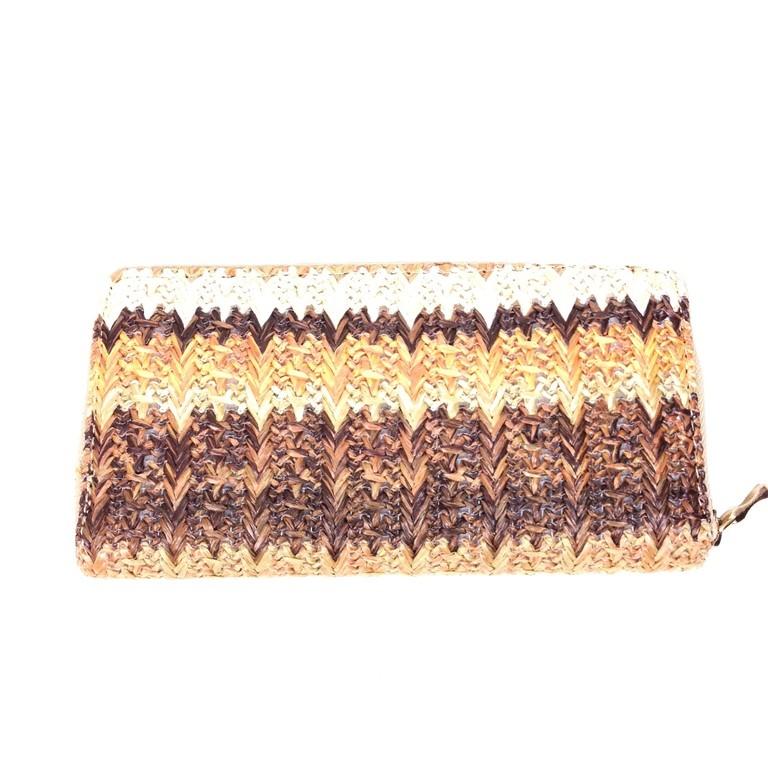 Hippe Tas A4 : Hippe envelop tas roze beige met bijpassende portemonnee