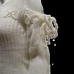 pullover off white Jcl mouwaanzicht