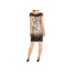 jurkje met korte mouwen en dierenprint achterzijde designer Rick Cardona