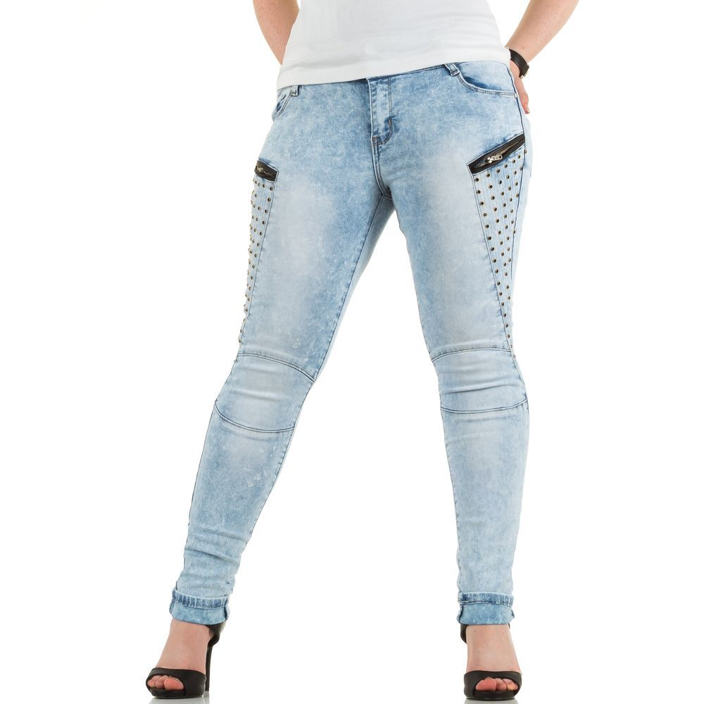 Jeans licht blauw voor een maatje meer