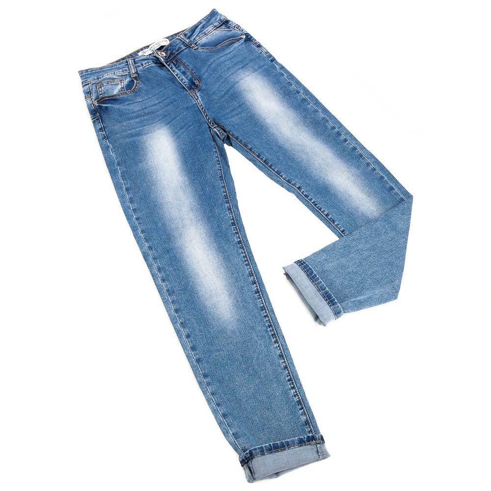 dames jeans blauw voor de vollere vrouw