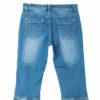 3/4 jeans broek voor de vollere vrouw