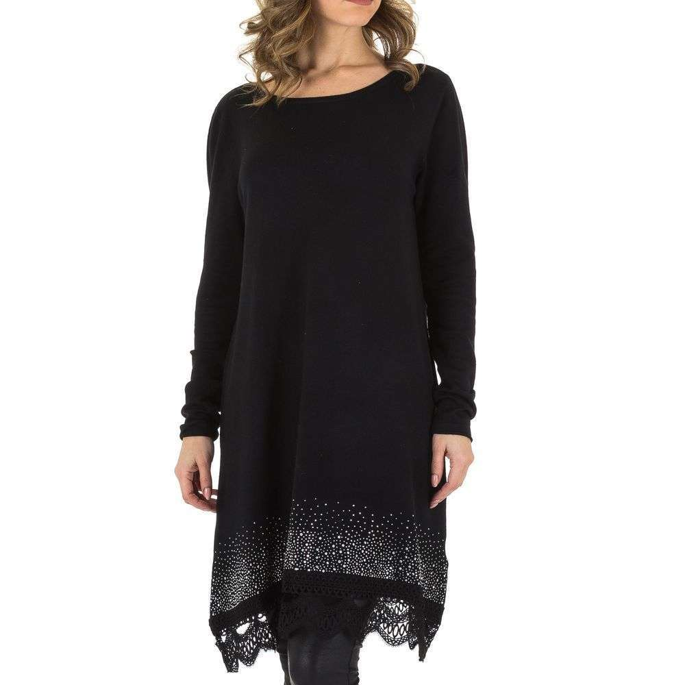 zwarte tuniek jurk